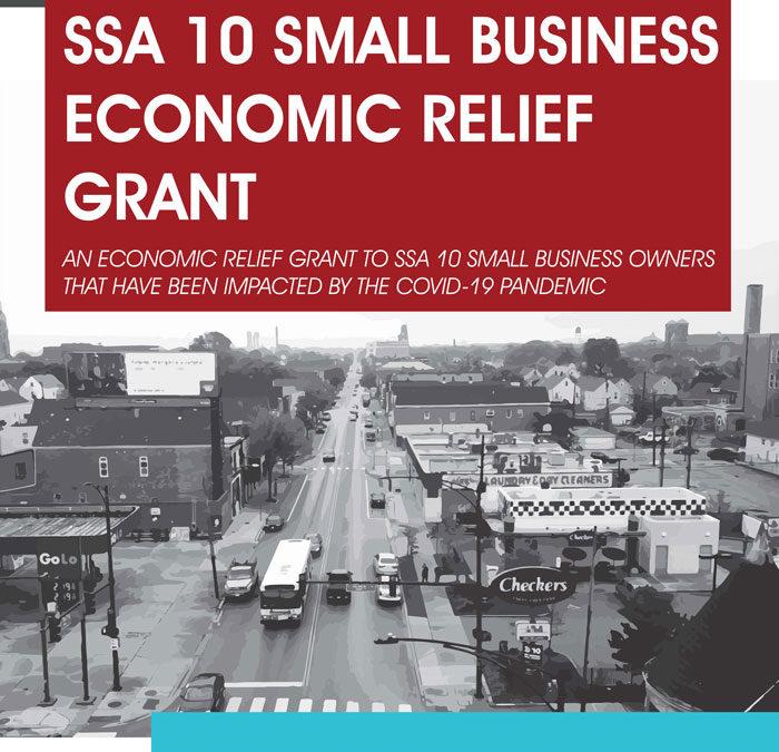 SSA 10 Small Business Economic Relief Grant