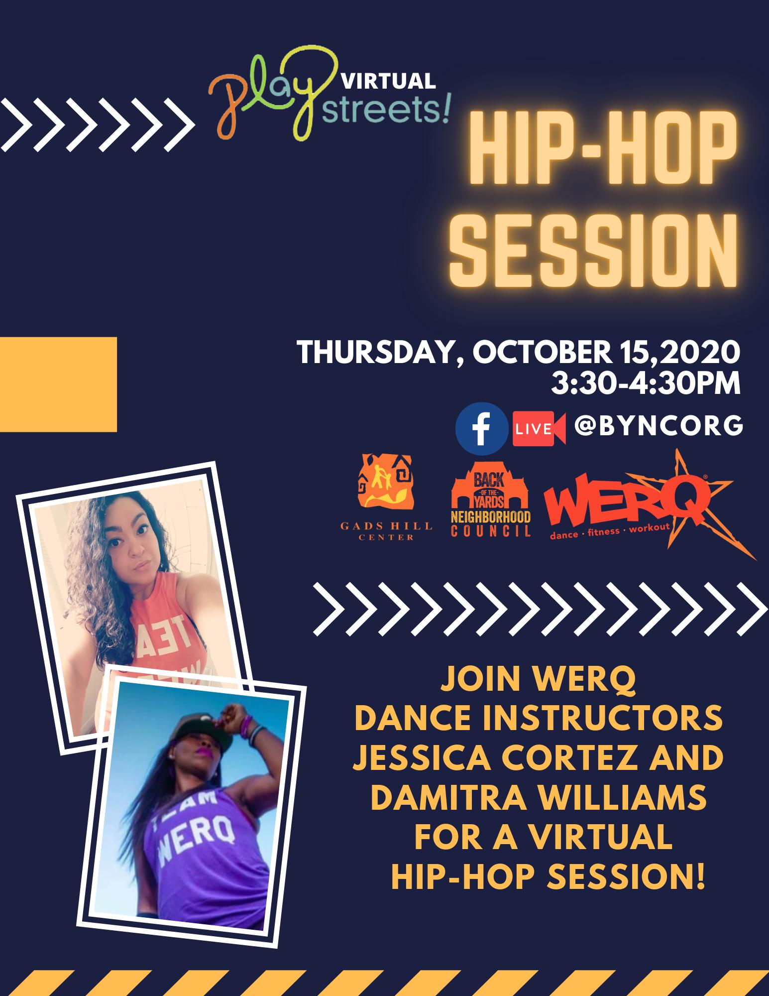 hip-hop session flyer